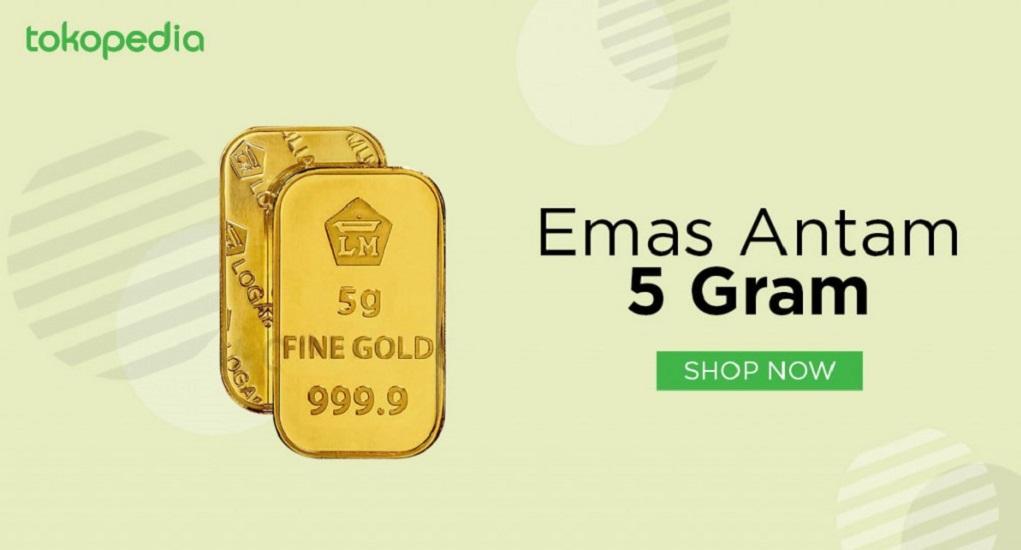 5 Keuntungan Investasi Emas di Tokopedia
