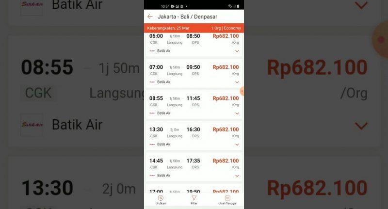 5 Langkah Mudah Pesan Tiket Pesawat di Shopee