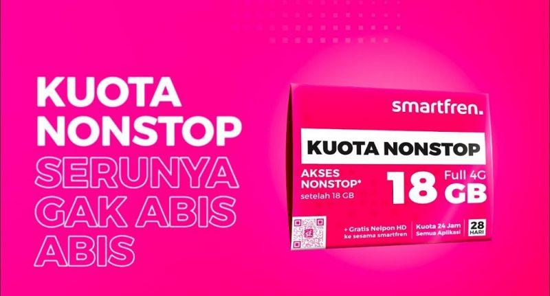 Mengenal Paket Kuota NonStop dari Smartfren