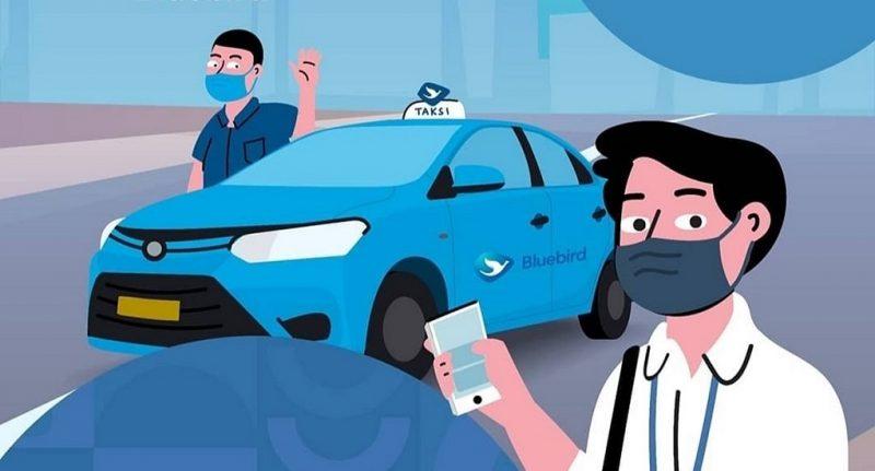 Naik Taksi Bluebird Bisa Bayar Lewat Shopeepay