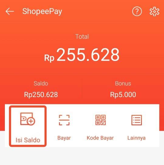 Saldo Shopeepay Murah